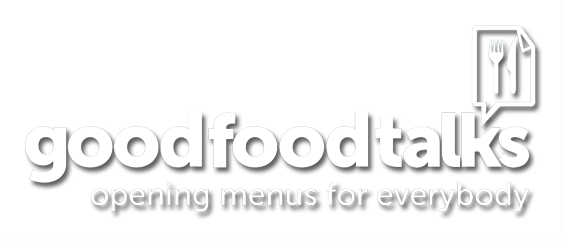 Good Food Talks header logo